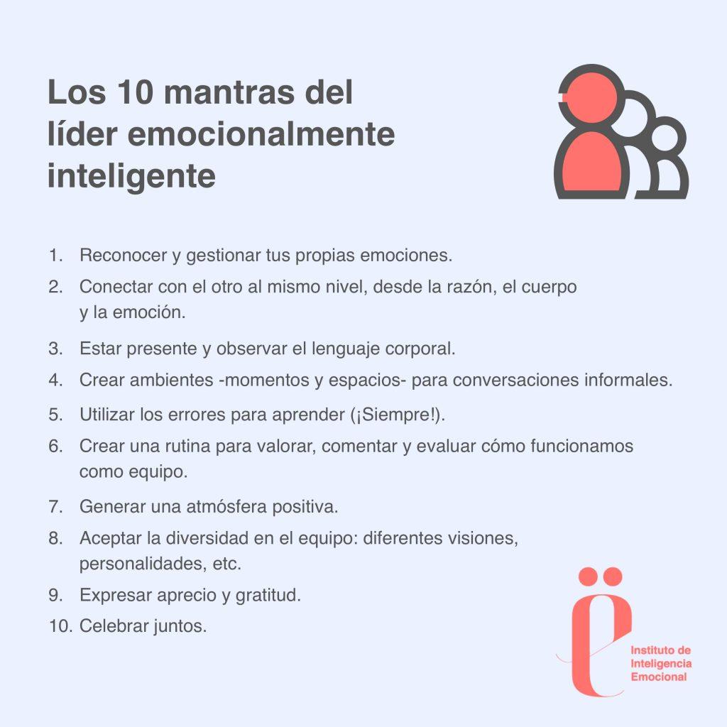 Instituto de Inteligencia Emocional-10 mantras del líder